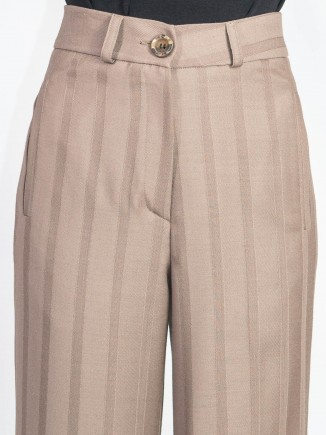 Recycled fabrics crafted pants Gnana