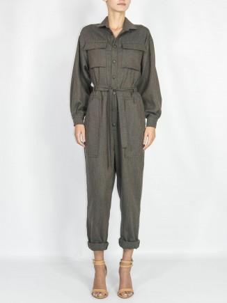 Recycled fabrics jumpsuit Gnana