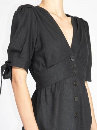 Black crafted dress Gnana