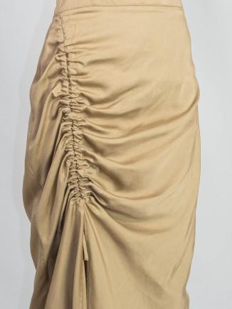Recycled fabrics ethical skirt Gnana