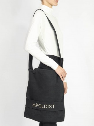 Organic fabric crafted sustainable bag Apoldist