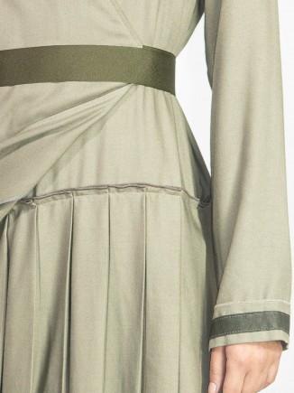 Crafted wool dress A&S Negulescu