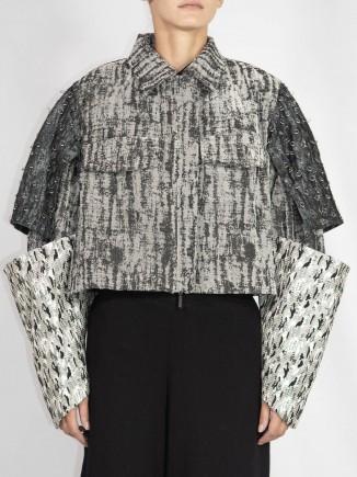 Unique crafted jacket Madalina Mihalcea