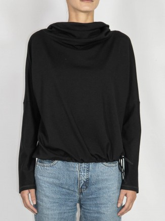 Black crafted top Maam with love