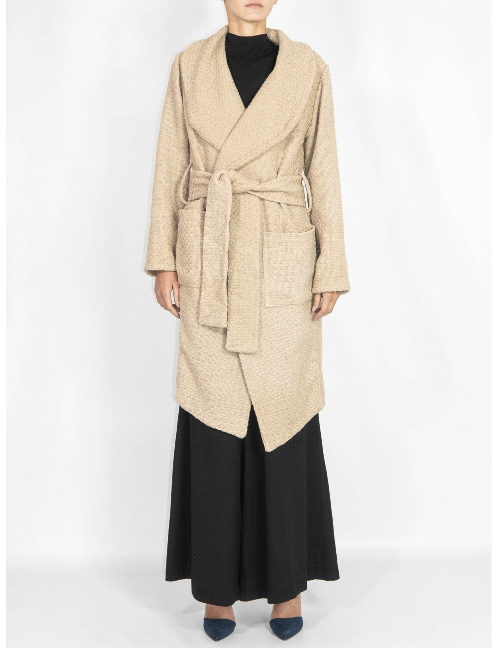 Crafted trench coat Maam with love