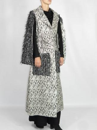 Unique crafted coat Madalina Mihalcea
