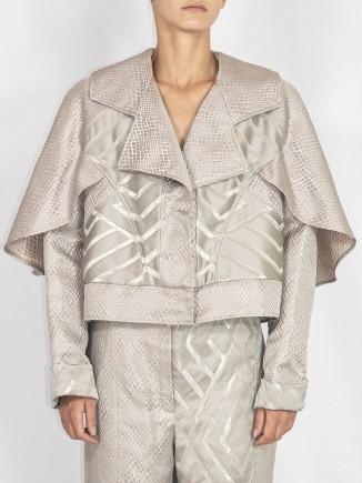 Unique crafted jacket Andrada Oprean