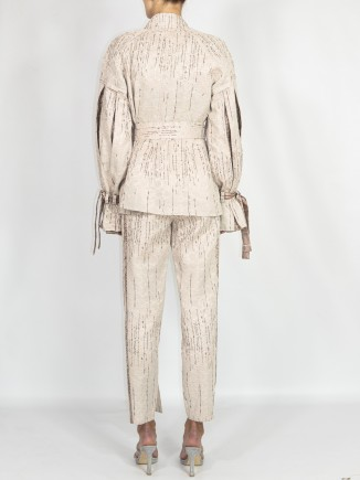 Unique crafted suit Andrada Oprean