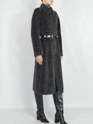 Upcycled vintage coat Hooldra