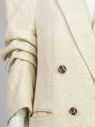 Upcycled second hand jacket Hooldra