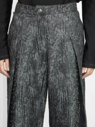 Unique crafted pants Madalina Mihalcea