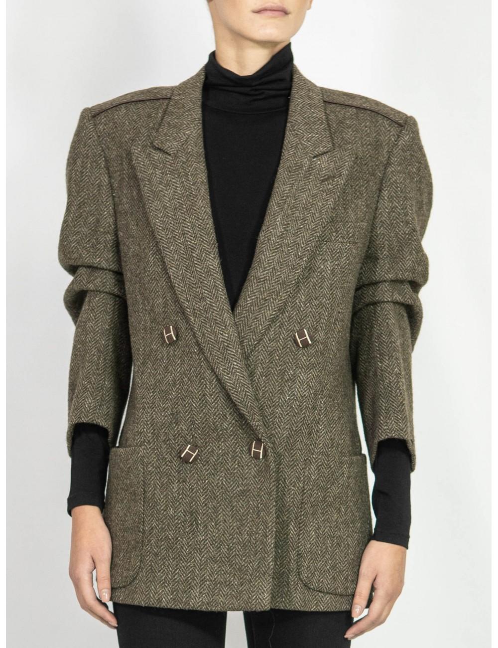 Upcycled organic fabrics jacket Hooldra