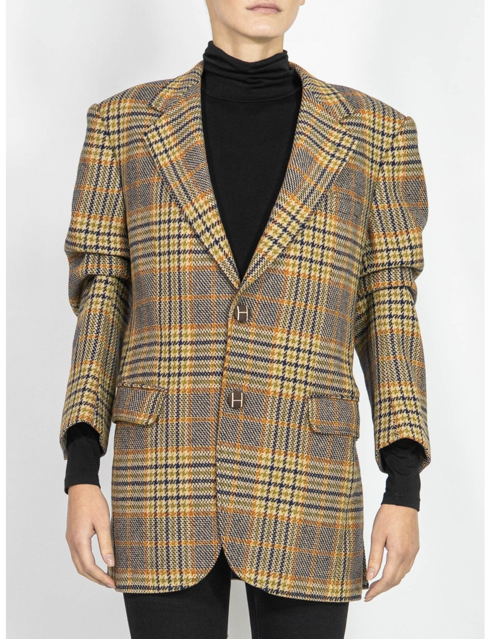 Upcycled organic fabrics vintage jacket Hooldra