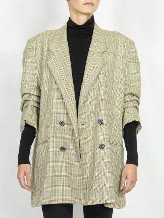 Upcycled second hand vintage jacket Hooldra