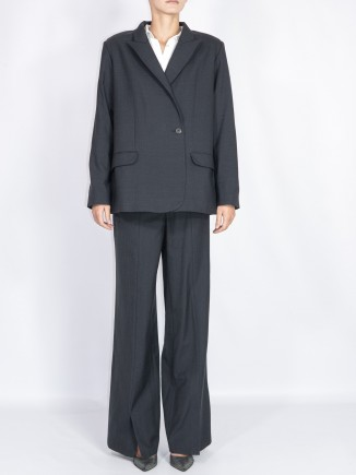 Recycled fabrics crafted suit Gnana