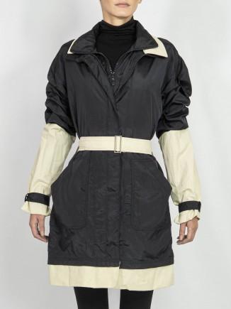 Second hand upcycled jacket Hooldra