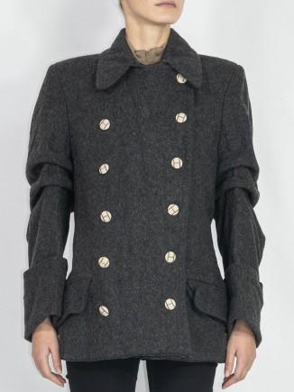Second hand upcycled short jacket Hooldra