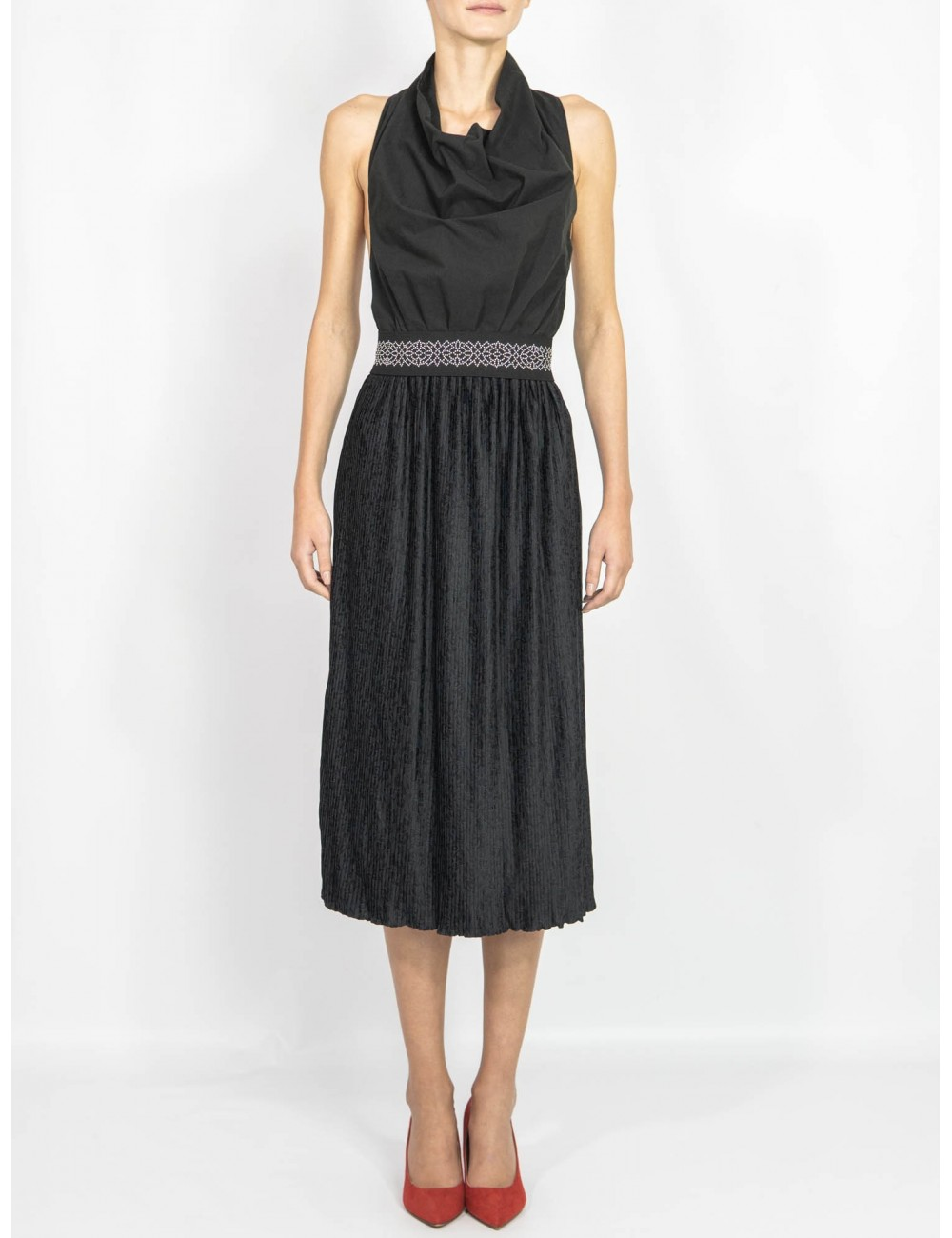 Upcycled dress Hooldra