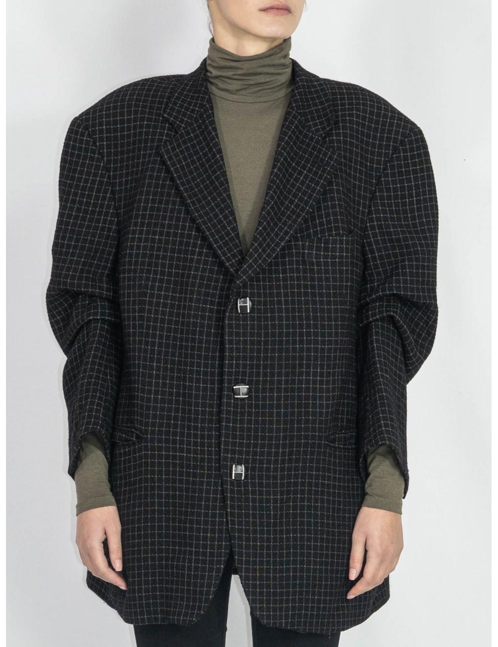 Oversized upcycled jacket Hooldra
