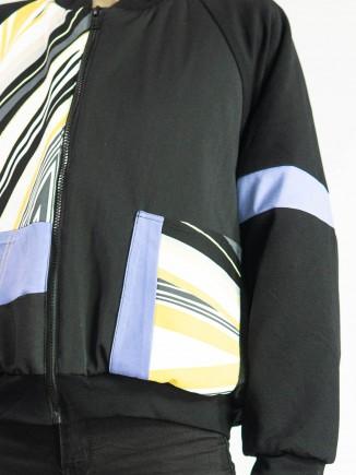 Crafted unique jacket Olga Mihoc
