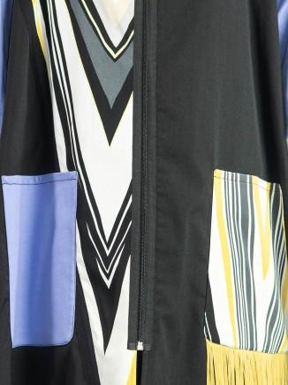 Crafted coat Olga Mihoc